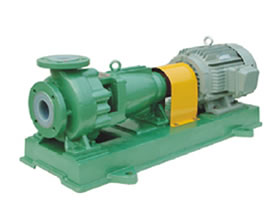 IHF fluorine plastic lined centrifugal pump series,IHF